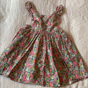 Boden Pinafore in a Liberty London Print 4/5